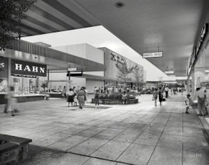 Prince George Plaza Hyattsville Maryland may 1959
