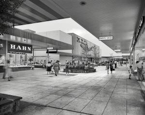 Prince George Plaza Hyattsville Maryland may 1959
